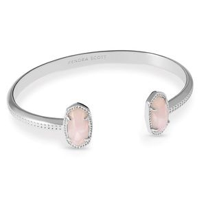 KENDRA SCOTT • Elton Rose Quartz Cuff Bracelet